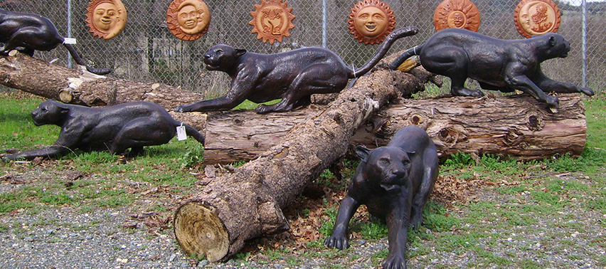 Image Result For Aluminum Deer Garden Statues
