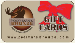 Poor Man's Bronze Gift Certificates