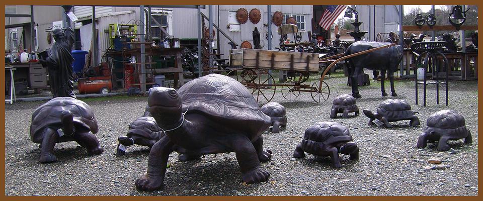 Poor Man's Bronze Recycled Metal Tortoise States