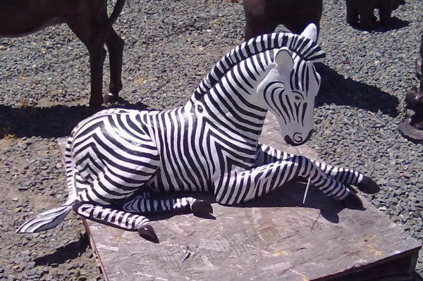 zebra-garden-statue-A26-1
