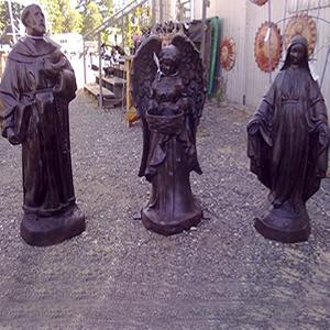 Aluminum-Saint-Francis-Mary-Virgin-Mary-Statues