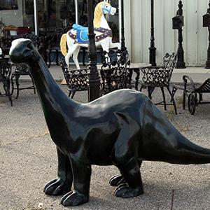 Dinosaur Large Brontosaurus Poor Man S Bronze