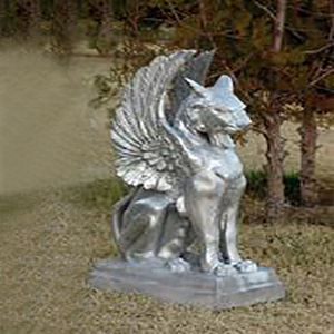 cat-griffin-metal-garden-statue