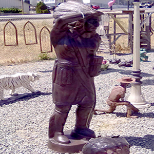 metal-Indian-Warrior-Garden-Statue