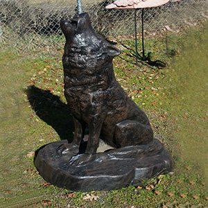 Metal Garden Statue Yard Art