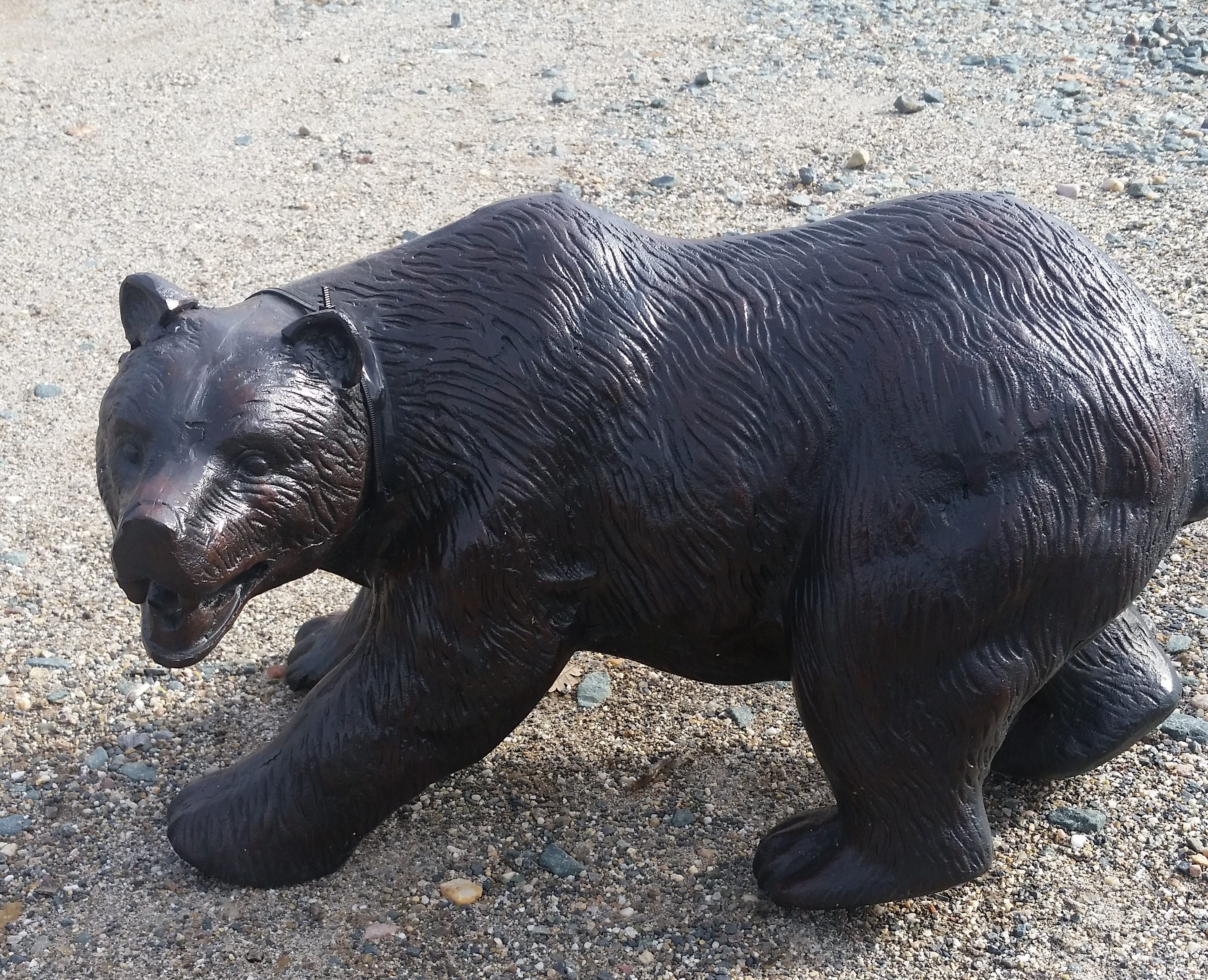 Small Grizzly Bear Garden Statue 15 Quot For Desk Or Yard