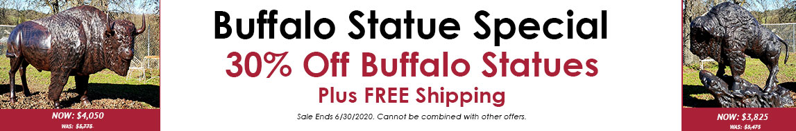 30% Off Buffalo This June