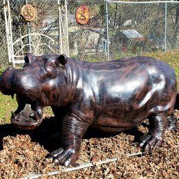 Large Hippos Statue